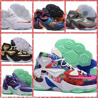 Wholesale 2016 Men Athletic lebron Basketball Shoes Original LBJ XIII Sports Sneakers