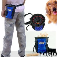 Wholesale Dog Puppy Snack Obedience Agility Bait Training Bag Food Treat Pouch Holder