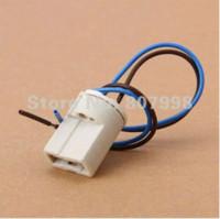 Wholesale NEW A AC V G9 Socket Connector Socket LED Halogen Lamp Bulb Ceramic Holder Base g9 bulb led