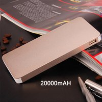 bank multi - NEW DHL mAh Powerbank Power Bank Mobile for iPhone6 iPad Samsung cellphones chargers mobile phone tablet pc multi colo