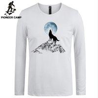 basics clothing brand - Pioneer Camp men t shirt brands cotton white basic casual slim GYM t shirts breathable T shirt men clothing