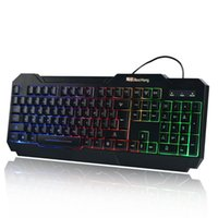 airlines game - Biao Airlines BH wired USB keyboard game notebook computer keyboard backlight light external keyboard