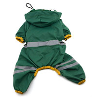 bar feeder - New Pet Dog Cat Raincoat Clothes Puppy Glisten Bar Hoody Waterproof Rain Jackets