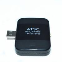 Wholesale Digital ATSC TV Receiver Watch ATSC live TV on Android Phone Pad USB TV Tuner Pad TV stick for USA Korea Mexico Canada