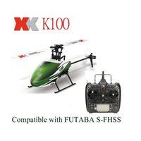 big falcons - Original XK Falcon K100 CH D G System Brushless Motor RTF RC Helicopter