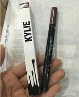 Wholesale New Kylie Double Eyeliner Waterproof Black and brown in Kylie Pencil Long Lasting Eyeliner Makeup by Kylie Jenner Cosmetics