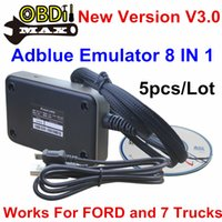 Wholesale Newest Adblue IN Professional Truck Remove Tool ADBLUE Emulator With NOX Sensor V3 For FORD Fast Shipping