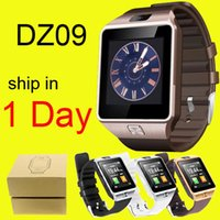 android phone gsm - Sports Smart Watch DZ09 Mini Phone Healthy Wristwatch With Camera MP quot Screen SMS GSM DHL Free OTH110