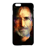 apple iphone jobs - Steve Jobs Painting fashion cell phone case for iphone s s c s plus