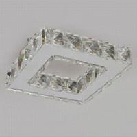 Wholesale Luminaire LED Modern Crystal Ceiling Light Lamp For Living Room Lustre De Sala Stainless Steel