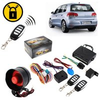 auto alarm siren - Car Alarm System Security kit Keyless Entry Siren Remote Control CAL_601