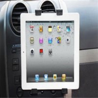 accessories portable gps - Portable Universal Car Air Vent Mount Cradle Holder For iPad Tablet Accessories Black Bracket Tablet Car Holder