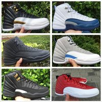 Cheap Kids Wholesale Retro 12 Basketball Shoes Men Cheap XII Boots High Quality For Sale Sneakers 2016 New Online Sport Shoes Free Drop Shipping