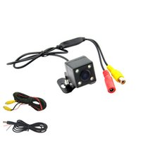 Wholesale Waterproof Rear View Camera Parking Assistance Rear Camera HD CCD LED Night Vision Car Backup Side Camera wide angle