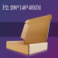Wholesale F2 mm Aircraft Cardboard Pack Boxes Craftwork Gift Fastener Packaging Kraft Paper Boxes Macaron Cajas Carton