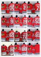 chicago - NHL Chicago Blackhawks Jonathan Toews Kane Panarin CRAWFORD Hull Red Black White Gray Hockey Jerseys Ice Stitched Mix Order