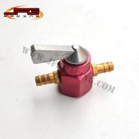 Wholesale Fuel Oil Gas Tank Switch for Gasoline Motorcycle Pit Dirt Monkey Dax Bike Motocross Enduro Supermoto Racing ATV Quad Scooter Red