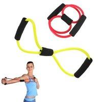 Wholesale 2Pcs Resistance Band Tube Workout Exercise Yoga Elastic Band Fitness Equipment