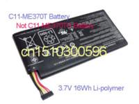 Wholesale C11 ME370T Battery Replacement for GB GB GB Asus Google Nexus st Generation Nexus ME370T E0269 Tablet PC Li Polymer