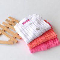 Wholesale the new children three color cotton knitted sweater T shirt girl twist cardigan kids knitwear