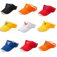 Wholesale 2016 hot selling Visors Go Cap Hat Team Valor Team Mystic Team Instinct Cap fashion Hat