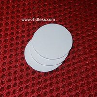 asset management tags - Dia mm RFID Tag MF S50 MHz ISO14443A RFID PVC Token for asset management NFC Tag for Mobile phone with M1 S50 Chip