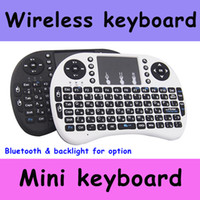 Wholesale 2016 Wireless Keyboard rii i8 keyboards Fly Air Mouse Multi Media Remote Control Touchpad Handheld for TV BOX Android Mini PC