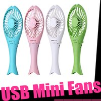 appliance manufacturers - 2016 Manufacturers Selling New Portable appliances Mermaid Usb Mini Fan Creative Charging Rotary Vane Confession Artifact