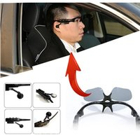 Wholesale Wireless Bluetooth Headset Sunglasses Stereo Sunmer In Driving With Mic Music For Iphone HuaWei Samsung Any Mobile Phone