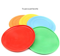 Wholesale Fantastic Pet Dog Flying Disc Tooth Resistant Training Toy Play Frisbee Tide pet supplies dog toys chews