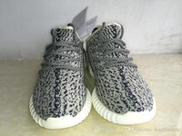 Wholesale Fashion Brand Mens Boost Pirate Black Running Shoes Original Top Ones Footwear Sneakers Kanye West Boost Sport Sneakers Gold Color