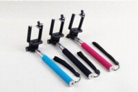 Wholesale Handheld Self Timer Monopod Telescopic Extendible Selfprotrait Prop Stand Holder for Digital Camera Phone Clip Mount Adapter Tripods