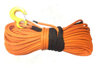 atv winch accessories - mm x meters high quality red synthetic winch rope for ATV UTV electric winch x4 off road accessories
