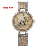analog buttons - 2016 Miss Fox New Fashion Trend Jewelry Button Women Watches Quartz Alloy And Glass Material With Waterproof And Aesthetic Effect