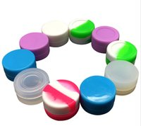 Wholesale FDA silicone wax box Containers Silicone jars container silicone contianer for wax silicone jars dab ML ML