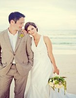 beach wedding tuxedos - Summer Beach Linen Men Suits Beige Tuxedos Notched Lapel Wedding Suits For Men Two Button Grooms Suits jacket pants
