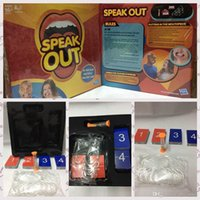best science toys - 2016 NEW Speak Out Game KTV Party Game Cards For Party Christmas Gifts Newest Best Selling Toy With Retail Box PPA467