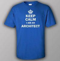 architecture building construction - unny T shirt KEEP CALM I AM AN ARCHITECT architecture building construction