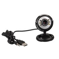 Wholesale 50 M USB LED Video Camera Webcam w Mic for PC Laptop MSN