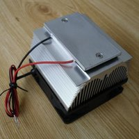 airplane air conditioning - DIY Peltier Air condition refrigeration plate TEC12706AJ V Cooling fan