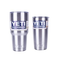 Wholesale 2016 yeti double vacuum inside and outside straight stainless steel car cup