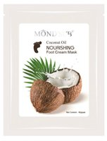 Wholesale After Exfoliation Soothing Rehydrating Coconut Oil Nourishing Foot Mask BB Feet