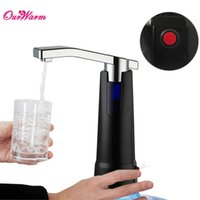 battery water dispenser - Electric Water Bottle Pump Dispenser with Rechargeable Battery Drinking Water Bottles Suction Unit Water Dispenser Kitchen Tools