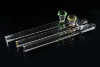 Wholesale New Coming OEM Clear Color Glass Smoking Pipe Slide Bowl diameter mm For bongs With Colorful Circle Round Edge