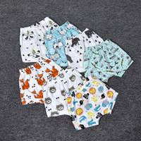 bee trouser - 2016 Baby boys girls ins shorts cartoon Bee Panda Zoo embroidered Sabrina pant Leggings Cropped Trousers boys Harem Shorts