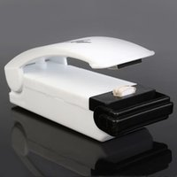Wholesale New Mini Handheld White Household Portable Sealer Sealing Machine Closer