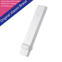 Wholesale Original Xiaomi WIFI Amplifier Mi Router Wireless Wi Fi Repeater Network Router Extender Antenna Wifi Repitidor Signal Amplifie