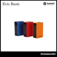 basic match - Joyetech eVic Basic TC Mod with Max W Output mAh Battery Capacity Best Match with Cubis Pro Mini Atomizer Original