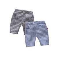 Wholesale Winnie Nannan Summer Children Boys simple leisure children baby pants pants vertical stripes