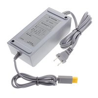 Wholesale Power Supply V AC Adapter for Wii U Game Console Power Adapters Wall Charger US EU PLUG with Retail Box